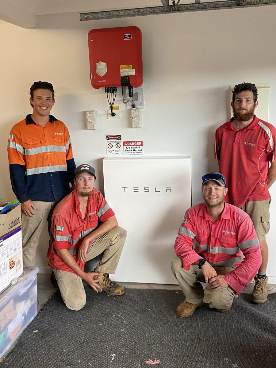SMA and Tesla